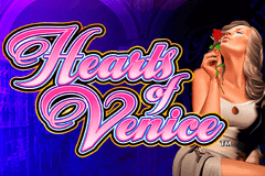 logo hearts of venice wms slot game
