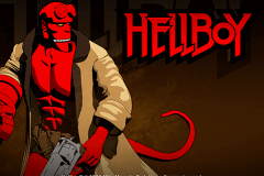 logo hellboy microgaming slot game