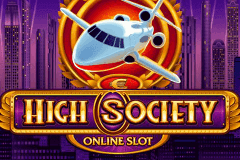 logo high society microgaming slot game