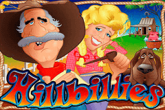 logo hillbillies rtg slot game
