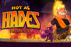 logo hot as hades microgaming slot game
