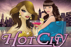 logo hot city netent slot game