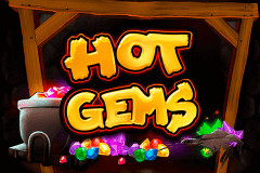 logo hot gems playtech slot game