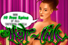logo hot ink microgaming slot game