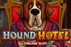 logo hound hotel microgaming slot game