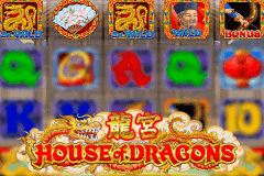 logo house of dragons microgaming slot game