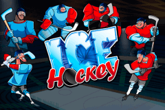 logo ice hockey playtech slot game