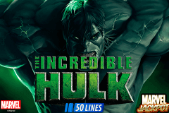 logo incredible hulk playtech slot game