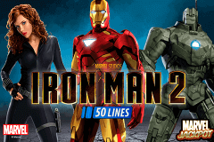logo iron man 2 50 lines playtech slot game