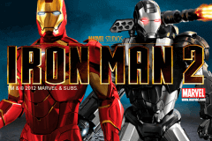 logo iron man 2 playtech slot game