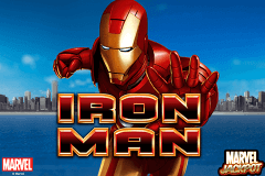 logo iron man playtech