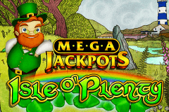 logo isle o plenty igt slot game