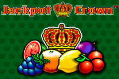 logo jackpot crown novomatic slot game