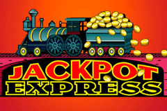 logo jackpot express microgaming slot game