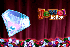 logo jewel action novomatic slot game