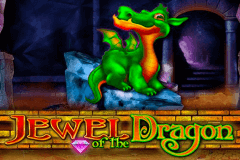 logo jewel of the dragon bally slot game