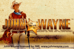 logo john wayne playtech slot game