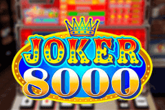 JOKER 8000 MICROGAMING SLOT GAME