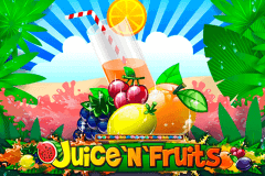 logo juicenfruits playson slot game