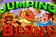 logo jumping beans rtg slot game