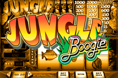 JUNGLE BOOGIE PLAYTECH SLOT GAME