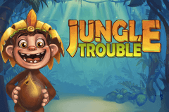 logo jungle trouble playtech slot game
