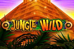 logo jungle wild wms slot game