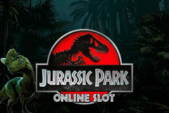 logo jurassic park microgaming slot game