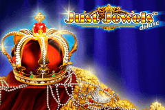 logo just jewels deluxe novomatic slot game