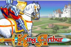 logo king arthur microgaming slot game