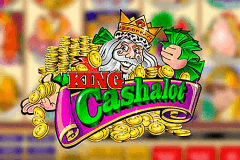logo king cashalot microgaming slot game