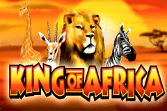 logo king of africa wms slot game
