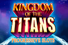 logo kingdom of the titans wms slot game