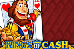 logo kings of cash microgaming slot game
