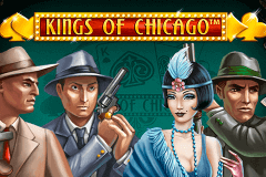 logo kings of chicago netent slot game