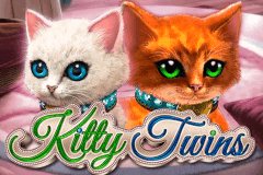 logo kitty twins gameart slot game
