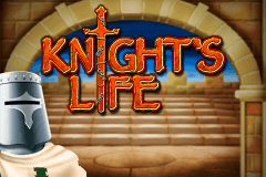 logo knights life merkur slot game