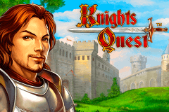 logo knights quest novomatic slot game