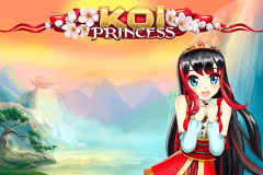logo koi princess netent slot game