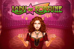 logo lady of fortune playn go slot game