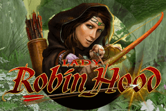 logo lady robin hood bally slot game