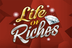 logo life of riches microgaming slot game