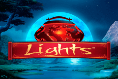 logo lights netent slot game