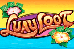 logo luau loot wms slot game