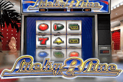 logo lucky 8 line netent slot game