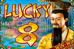 logo lucky 8 rtg slot game