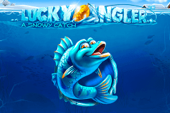 logo lucky angler netent slot game