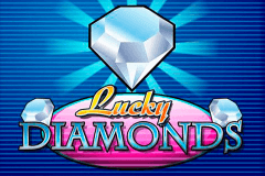 logo lucky diamonds playn go slot game