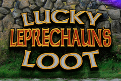 logo lucky leprechauns loot microgaming slot game