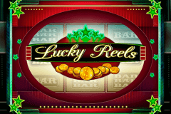 logo lucky reels playson slot game